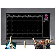 Monthly Chalkboard with frame & clothespins 11x19 Sign