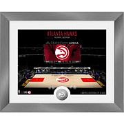 Officially Licensed NBA Art Deco Silver Coin Photo Mint