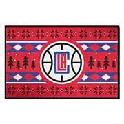 Officially Licensed NBA Holiday Sweater Starter Mat