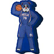Philadelphia 76Ers Plushlete Mascot Pillow