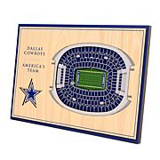 Officially-Licensed NFL 3-D StadiumViews Display