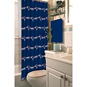 Officially Licensed NFL 903 Shower Curtain - Patriots