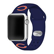 Officially Licensed NFL Apple Watch Med. Sport Band - Blue
