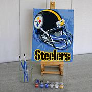Officially Licensed NFL Team Pride Paint By Number Kit