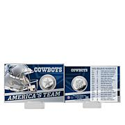 Officially Licensed NFL Team Schedule Coin Card