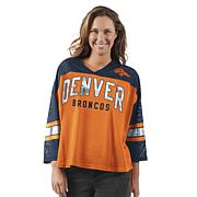 Officially Licensed NFL For Her Razzle Dazzle Mesh Top by Glll