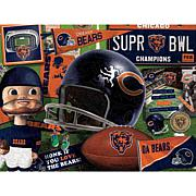 Officially Licensed NFL Wooden Retro Series Puzzle