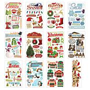 Paper House Holiday 3-D Stickers