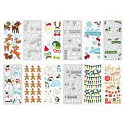 Paper House Holiday Puffy Sticker Set