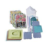 Paper Wishes Foiled Moveable Card Kit