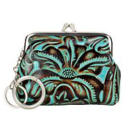 Patricia Nash Borse Tooled Leather Coin Purse