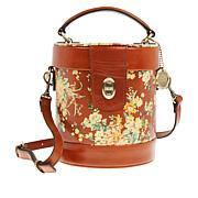 Patricia Nash Noli Leather Cylinder Crossbody Bag