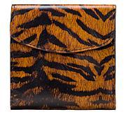 Patricia Nash Reiti Bi-Fold Leather Flap Wallet with RFID Technology