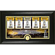 """Penguins """"Traditions"""" Panoramic Bronze Coin Photo Mint"""