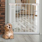 Pet Adobe Walk-Through Pet Gate - White