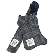 Pet Life 2-in-1 Windowpane Plaid Dog Jacket w/Matching Dog Mat - XS