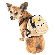 Pet Life Dual-Pocketed Compartmental Dog Harness Backpack