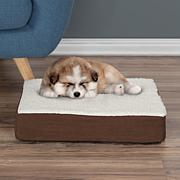 """PETMAKER Orthopedic Sherpa Top Pet Bed - 20"""" x 15"""""""