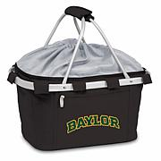 Picnic Time Portable Metro Basket - Baylor University