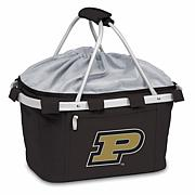 Picnic Time Portable Metro Basket - Purdue University