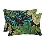 Pillow Perfect 2 Oversized Rectangular Throw Pillows