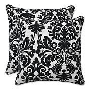 "Pillow Perfect Set of 2 Outdoor 18.5"" Throw Pillows"