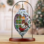 Precious Moments Ne'Qwa Art Cardinal Ornament With Stand