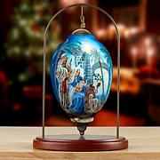 Precious Moments Ne'Qwa Art Nativity Ornament With Stand