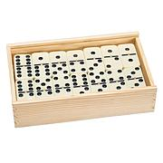 Premium Set of 55 Double Nine Dominoes w/ Wood Case