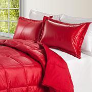 Puff Indoor/Outdoor Quilted Nylon Comforter - Full/Queen
