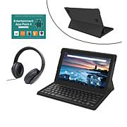 "RCA 11.6"" 128GB 2-in-1 with Keyboard and DJ Headphones"