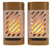 REALTREE LED Lantern with Bluetooth Speaker - 2-pack