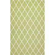 Rizzy Home Swing Hand Woven Dhurrie Rug Lime - 3' x 5'
