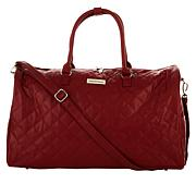 "Samantha Brown 21"" Quilted Satchel"