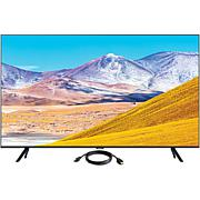 Samsung TU8000 Crystal UHD 4K Smart TV (2020) with HDMI Cable