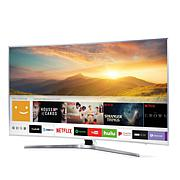 "Samsung 65"" MU7500 4K Ultra-HD Curved Smart TV with 2-Year Warranty"