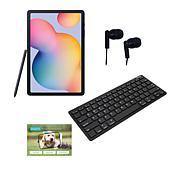 """Samsung Galaxy Tab S6 Lite 64GB 10.4"""" Tablet with Bluetooth Keyboard"""