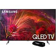 """Samsung Q8FN 65"""" QLED Flat 4K TV with 6' HDMI Cable"""
