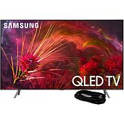 "Samsung Q8FN 75"" QLED Flat 4K TV with 6' HDMI Cable"