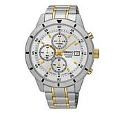 Seiko Men's Two-Tone Stainless Steel Quartz Watch