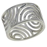 Sevilla Silver™ Diamond-Cut Openwork Band Ring