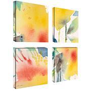 "Sheila Golden ""Print 1"" 4-Panel, Giclée-Print Set"