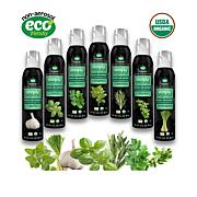 Simply Beyond Spray-On Herbs® Herb Garden Organic 7-pack