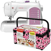 Singer Curvy Sewing Machine Bundle with Sewing Basket