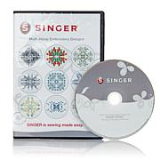 Singer® Futura Multi-Hoop Embroidery Designs CD-ROM