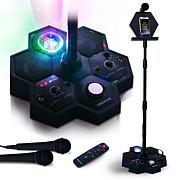Singsation Performer Deluxe All-in-One Karaoke System w/2 Microphones
