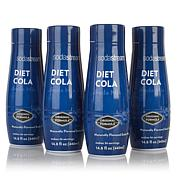 SodaStream Diet Cola Drink Mix 4-pack