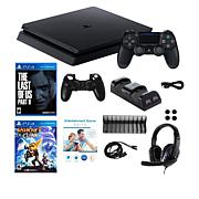 Sony PlayStation 4 Slim 1TB Console with Last of Us II & Accessories