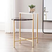 Southern Enterprises Holly & Martin Bickly End Table