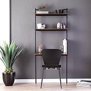 Southern Enterprises Holly & Martin Haeloen Wall Mount Desk - Black